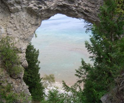 Michigan Arch by skydive1588