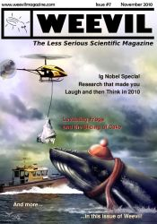 Weevil issue 7 - cover art by nunt