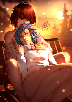 Max x Chloe - tender moments by CherryInTheSun