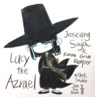Lucy the Azrael by komi114