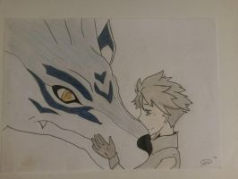Matt and Garurumon by SicaChii