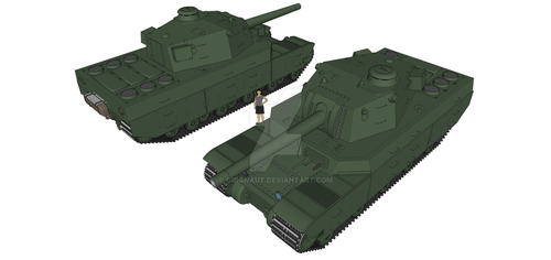 Type 2604 Hvy Tank by Giganaut