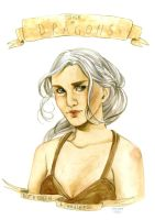 + Commission + Daenerys by inu-steakcy