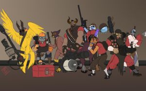 Dota Fortress 2 by PatBanzer