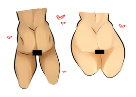 couple a good butts.png by Loxiv