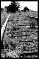 Down the Tracks by KBSL