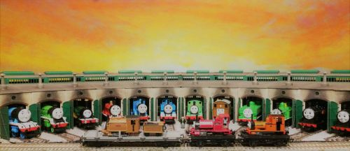 Tidmouth Sheds 6 by TheCaptainofDerp