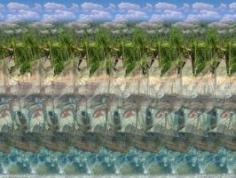 Spanish Ships Stereogram by 3Dimka