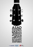 ASAD Sounds Poster by fuelyourdesign