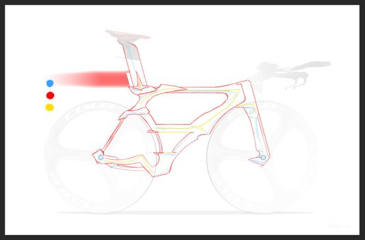 Ferrari Bike WIP by all-one-line