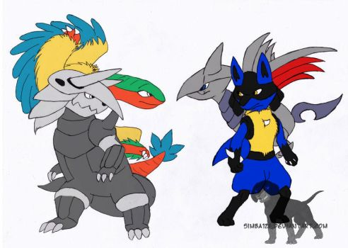 Gonna kick their tails WIP by Tetsumon