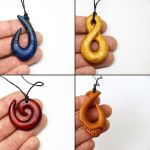 Wood pendants 2 by BDSart