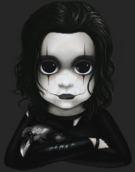 Eric Draven from The Crow BITTY BADDIES