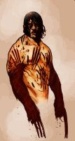 Bloody Wolverine by bearmantooth