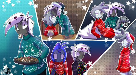 A very spotted X-Mas by JB-Pawstep