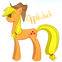 Applejack by CrystalShadow35