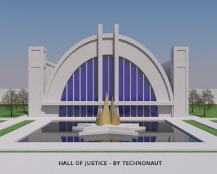 Hall of Justice by technonaut