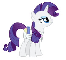 Rarity as a hairdresser v2.0 by mehoep