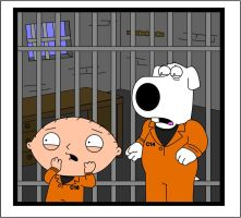 Stewie and Brian by adsta