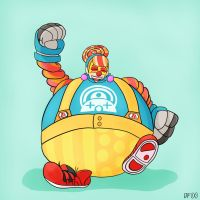 It's Lola the Bloated Clown! by D1G1TALF4CE