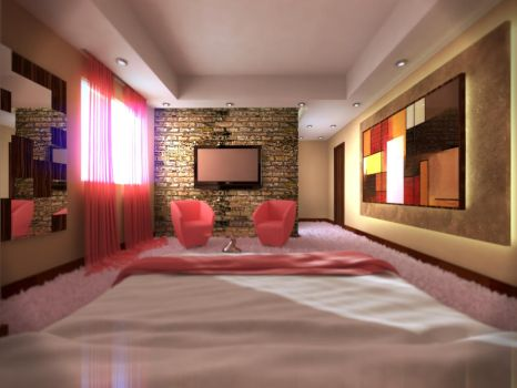 Bedroom Hotel by AbedBaayoun