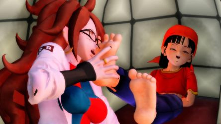 MMD Pan Gets Tickled By 21 by Theahj90
