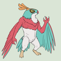 Hawlucha by Iron-Zing