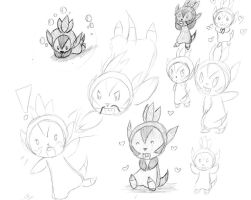 Chespin, The Best Pokemon Ever by mayfirerose