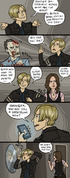 RE6: The Life of Leon by sparkyHERO
