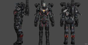 War Machine AIW FF by SSingh511