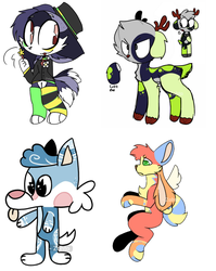 Leftover Adopts [OPEN] by Zohto