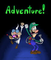 Luigi's Scary Vacuum Adventure TWO by Funferno
