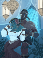 Gift - Ad'orc'able Honeymooners by GreenOverGreen