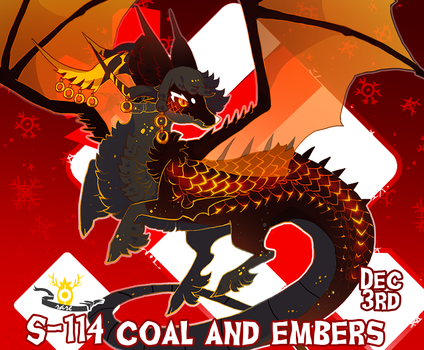 Stygian Advent Day 14} Coal and Embers by Zoomutt