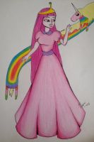 +Fanart+ Princess Bubblegum and Lady Raincorn by ByYasmin