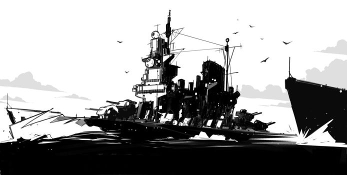 HMS Swift by sketchboook