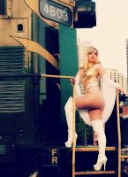 Miss Emma Frost by CosplayButterfly