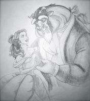 Belle and Her Beast by guen20