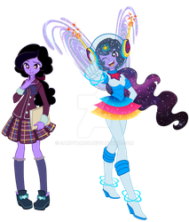 Equestria Girl Astral by Sakuyamon