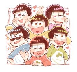 Osomatsu-San 2017 by Meoon