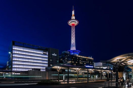 Kyoto Tower by TarJakArt