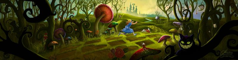 Alice in Wonderland by maril1