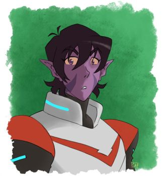 red paladin by greenapplefreak