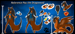 Reference: Pau the Dragonwolf by PauDragonwolf