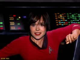 Ellen Page Celebrity Star Trek by gazomg