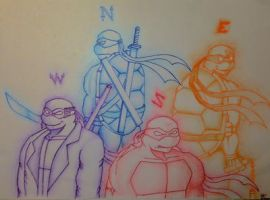 Compass TMNT by L4Dragon