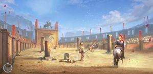 Arena. Tightrope Games by SergeyZabelin