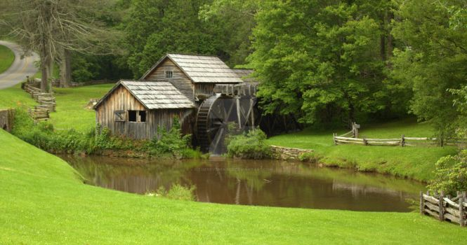 Marby Mill by TheReverendEd