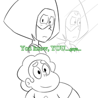 Peridot loves Steven00 by fallenjrblue