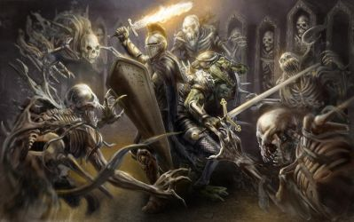 The Catacombs: Heroes' Tears by razwit